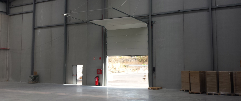 puerta seccional industrial 2