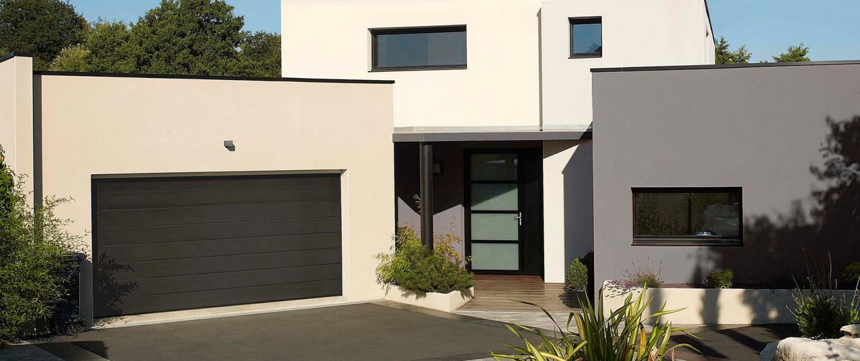 Puertas de garaje residenciales seccionales